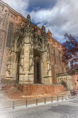Cathedral entrance (PhilHydePhotos) Tags: albi albigensians architecture buildings france southoffrance bâtiments