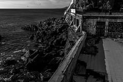 DSC_0029 (Visques) Tags: blackwhite sea shore contrast