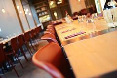 DSC_2365 (fdpdesign) Tags: pizzamaria pizzeria genova viacecchi foce italia italy design nikon d800 d200 furniture shopdesign industrial lampade arredo arredamento legno ferro abete tavoli sedie locali
