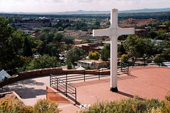Cross of the Martyrs (RRP Photography) Tags: santafe newmexico hillsidepark crosses monuments parks cityscapes