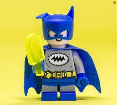 Bat-Mite (Jezbags) Tags: lego legos toys toy minifigure minifigures macro macrophotography macrodreams macrolego canon60d canon 60d 100mm closeup upclose dc dclego legodc batman batmite lolly yellow custom