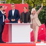 SPD-Kandidaten für Köln: Martin Dörrmann, Elfi Scho-Antwerpes, Dr. Rolf Mützenich und Prof. Dr. Karl Lauterbach thumbnail