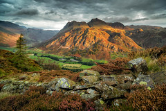 Langdale Pikes from Side Pike (John Lever Photography.) Tags: langdales district lake cumbria fell side