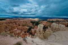 Day 5 - Bryce Canyon National Park (CD_MT) Tags: 1424mm arizona brycecanyon brycecanyonnationalpark cdmt d4 geologicformation nationalpark nikkor nikon nikond4 summer utah cloudy overcast redrock roadtrip stormy timeoff