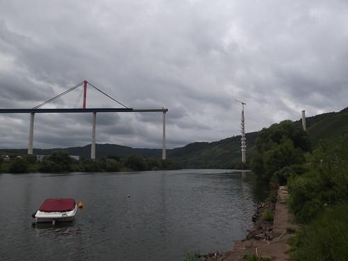 Hochmoselbrücke Aug 2017 / 1