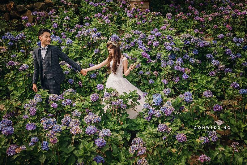 婚紗照,陽明山蒙馬特咖啡館,繡球花園,溫泉博物館,士林夜市