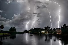 Nightlight (D~P~B) Tags: lightning aripeka florida storm obsession hunt longexposure