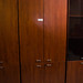 Tall 4 door cherry  storage unit E175