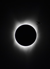 Flyby (woodwindfarm) Tags: solar eclipse 2017 totality oregon plane