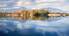 Endless autumn  rev. (ELtano86) Tags: eltano86 torbiere sebino iseo reflection reflexions riflessi riflesso lake lago acqua