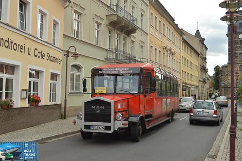 Sächsisch - Böhmischer Nationalpark-Express: MAN PIR FN 222 - Bad Schandau