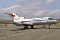 CCCP-87274 Yakovlev Yak-40 Aeroflot (pslg05896) Tags: ukk uask ustkamenogorsk oskemen cccp87274 yakovlev yak40 aeroflot