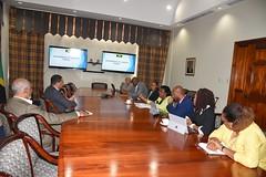 PM Meets With GoJ Portal Team