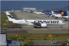 OH-LWD, Finnair, Airbus A350-941 (OlivierBo35) Tags: a350 airbus spotting kix kansai osaka finnair