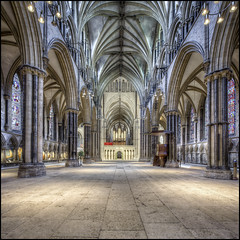 Lincoln Cathedral 20 (Darwinsgift) Tags: lincoln cathedral lincolnshire hdr photomatix interior nikon d810 nikkor 19mm pc e f4 tilt shift perspective control church architecture
