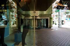 The Hague/ Den Haag/ 's Gravenhage, city center. (JoséDay) Tags: reflection spiegeling bijenkorf denhaag thehague windowlovers shopwindow