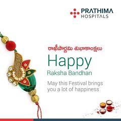 prathimahospitals - Rakshabhandan _ Prathima (PrathimaHospitals) Tags: prathimahospitals wishing you all happy rakshabandhan rakipournami