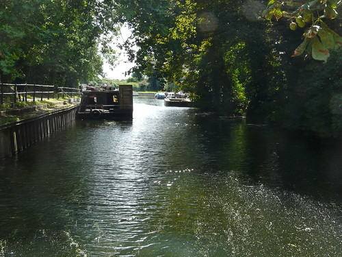 The Lee Navigation at Enfield Lock