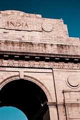 Free-Dom (ritvik_99) Tags: india delhi new newdelhi happy na arch architecture indiagate independance beauty freedom fighters history sun sunset summer life goldenhour friends triumph like instagood me landscape