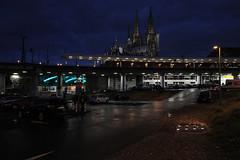 a walk towards the Cathedral (LichtEinfall) Tags: img9607hbfbplatzfin raperre köln kölnfrühmorgens dom hbf breslauerplatz busbahnhof