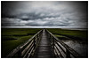 Guide Me (Silverio Photography) Tags: yarmouth capecod bass river ocean bridge marshland clouds overcast canon 60d sigma 1770 photoshop elements hdr topaz adjust color newengland massachuetts