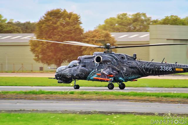 Czech Air Force - Mil Mi-35 Hind 3366