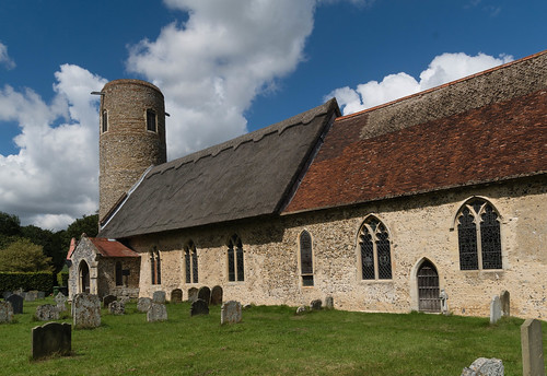 Barsham Church - Exterior