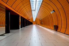 In perfect Isolation (*Capture the Moment*) Tags: 2016 fotowalk munich münchen sonya7m2 sonya7mii sonya7mark2 sonya7ii sonyfe1635mmf4zaoss sonyilce7m2 station subway ubahn