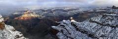 Grand Canyon winter majesty (Chief Bwana) Tags: az arizona grandcanyon grandcanyonwinter grandcanyonnationalpark nationalparks panorama snowscene winterscene landscape psa104 chiefbwana 500views
