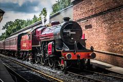 Hughes LMS design Class 5MT 'Crab' 2-6-0 mogul locomotive LMS 2765, 13065, BR 42765, (Blackburn lad1) Tags: bury train crab mogul locomotive lms class5mt railroad