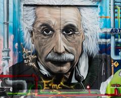 Einstein (CdL Creative) Tags: basel basle einstein schweiz switzerland geo:lat=475536 geo:lon=75861 geotagged graffiti streetart baselstadt ch