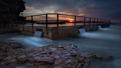 North Curl Curl Sunrise 5 (RoosterMan64) Tags: australia landscape longexposure nsw northcurlcurl northernbeaches rockpool rockshelf rocks seascape sunrise