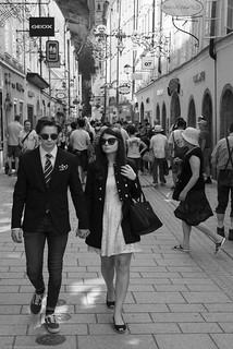 Fashion victims in Salzburg