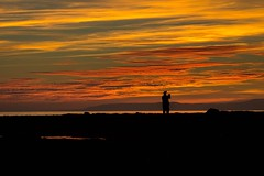 Capture the moment (simonelliot10) Tags: ayrshire evening shore sea arran coast scotland ayr sunset