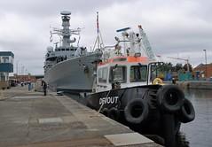 HMS Argyll F231 (4) @ KGV 17-09-17 (AJBC_1) Tags: london royalnavy frigate type23frigate hmsargyll f231 warship nato ©ajc ship boat vessel military rn england unitedkingdom uk navy navalvessel britisharmedforces dlrblog northwoolwich eastlondon newham londonboroughofnewham nikond3200 defenceandsecurityequipmentinternational2017 dsei dsei2017 armsfair royalalbertdock rad royaldocks docklands londonsroyaldocks devout thamescraftdrydockingservicesltd damen tug tugboat ajbc1 kgvlock kinggeorgevlock shipsinpictures