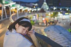 兒童新樂園外拍:羽葶 (Yu-Chu Lien) Tags: 人像 外拍 寫真 girl 兒童新樂園 兒童樂園 羽葶 制服 uniform 富士 fujifilm fuji 23mm xpro2 林羽葶