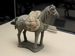 Artifact (oxfordblues84) Tags: museum historymuseum xian xianchina china oat overseasadventuretravel peoplesrepublicofchina chineseartifacts artifact xianmuseum horse horsesculpture culturalrelic