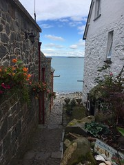Clovelly Village (radioink) Tags: harbour explore sea discover donkey cornwall boat clovelly steep scenery summer devon cottage village fishermen 2017 waterfall