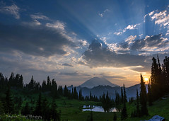 Unforgettable (Stephanie Sinclair) Tags: mtrainier clouds tipsoolake nps101 findyourpark pnw