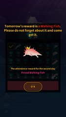 Tap Tap Fish - 1st Anniversary celebration event (UX Examples (Mobile Games)) Tags: taptapfish1stanniversarycelebrationevent sangheonkim taptapfish mobile ui game iphone sim info tutorial dailybonus