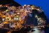 Cinque Terre, Manarola (Alex.Sebastian.H) Tags: nightshoot manarola cinqueterre liguria italy travel alexsebastianh old building sea blue nikkor2470 nikond610