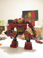 LEGO Hulkbuster (please excuse the lack of ARC reactor) (JellyBeanie81) Tags: lego marvel official hulkbuster man iron