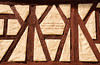 Wenn dieses Haus so lange hält bis Not und Haß und Leid zerfällt (Lesya Grammatey) Tags: fachwerkhaus hausspruch timbered house old saying