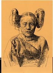 hopi (mc1984) Tags: mc1984 drawing hopi coiffure ink