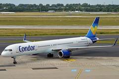 Ex N757X B753 Prototype Airframe. Condor D-ABOA Boeing 757-330 Winglets cn/29016-804 @ EDDL / DUS 18-06-2017 (Nabil Molinari Photography) Tags: condor daboa boeing 757330 winglets cn29016804 eddl dus 18062017