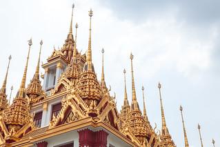 The Wat Ratchanatdaram temple