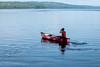 Sunny Hill Resort (Katherine Ridgley) Tags: ontario northernontario sunnyhillresort camping cottage madawaska madawaskavalley barklake summer lake water canoe canoeing boat paddle