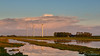 Evening light on the nature area (BraCom (Bram)) Tags: bracom reflections fence hek spiegeling cloud wolk sky puddle plassen trees bomen windmill windturbine windmolen evening avond farm boerderij natuurgebied naturearea birds vogels water herkingen paardengat goereeoverflakkee zuidholland nederland southholland netherlands holland 169 widescreen bramvanbroekhoven nl