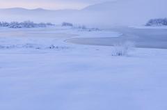 Cerknica Lake (happy.apple) Tags: dolenjejezero cerknica slovenia si winter snow zima sneg slovenija cerkniškojezero cerknicalake fog ice led megla jutro morning