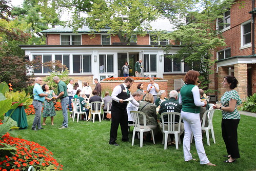Pregame at Cowles House - MSU vs. Western Michigan, September 2017